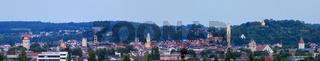 Ravensburg zur blauen Stunde