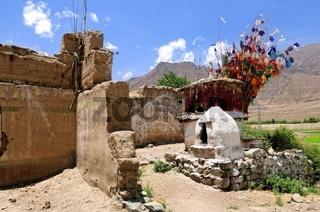 Den Götter nahe in Tibet China