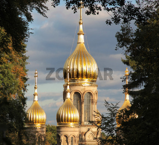 Tower of Russian Orthodox Church