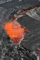 Lavasee  im Erta Ale Vulkan Äthiopien