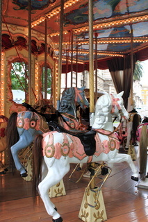 Old fashioned carousel