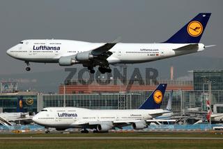 Lufthansa Boeing 747-400 (Jumbo-Jet)