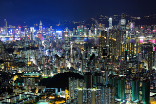 Hong Kong downtown