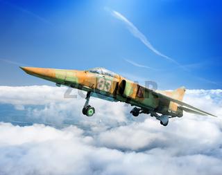 Soviet jet plane