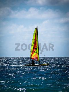 Seychellen, Segelboot