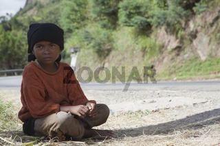 Afrikanischer Junge, Madagaskar, Afrika