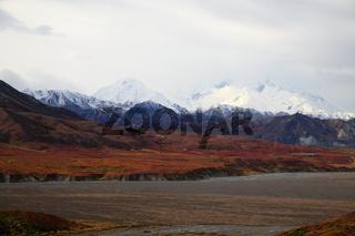 Berge Denali NP Alaska