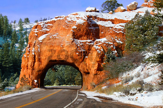 Dixie National Forest Rock Tunnel