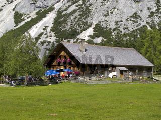 Alm im Karwendel