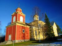 Lehtimäen kirkko - Kirche von Lehtimäen - Finnland - Suomi