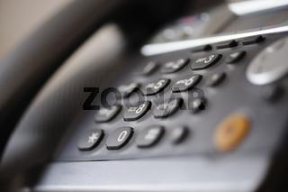 Tastatur eines Telefons