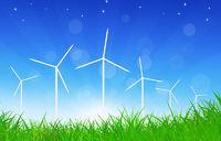 Green Power Wind Turbines