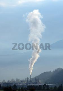 Chimney Pollution