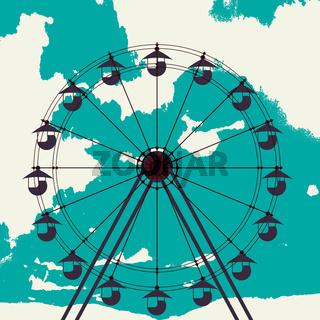 Ferris wheel sketch