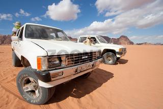 Desert of Wadi-Rum, Jordan