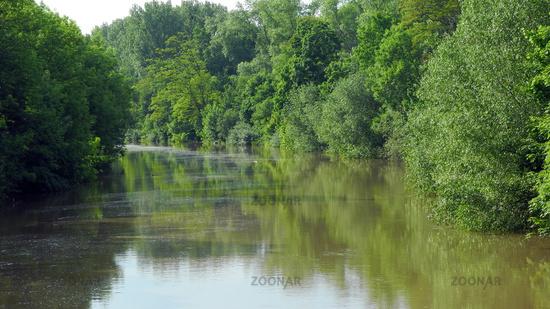 Hannover, Leine-Hochwasser