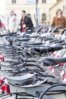 Fahrradverleih in München, Innenstadt