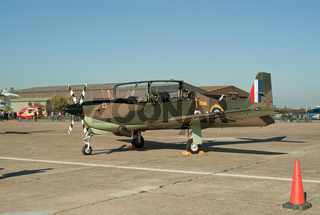 Short Tucano trainer plane