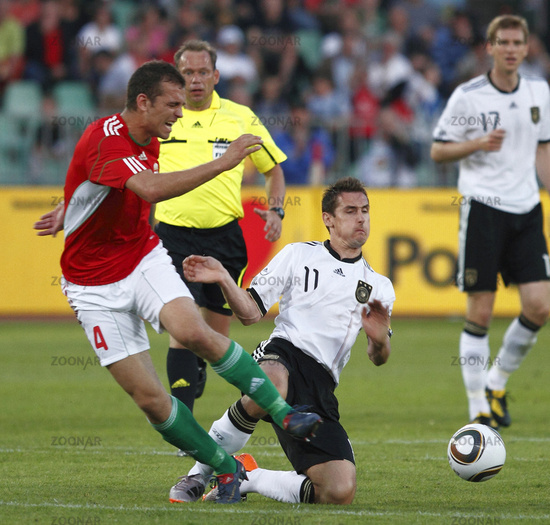 Hungary vs. Germany (0-3) friendly football match