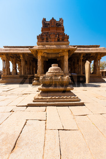 Courtyard Front Stone Sri Krishna Temple Hampi