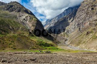 Lahaul valley, India