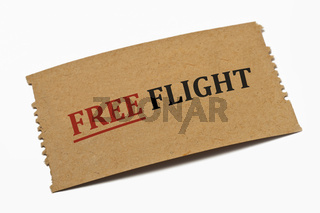 Freiflug Karte | Free Flight Ticket