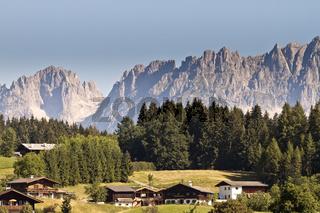 Austria Kitzbuhel Mountain View
