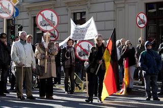 Pro-NRW Aufmarsch in Wuppertal