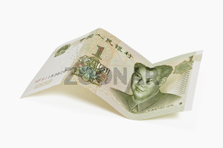 Chinesische 1 Yuan Banknote | Chinese 1 Yuan bill