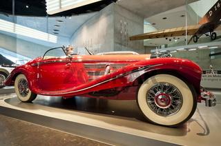 Mercedes-Benz 500 K Spezial-Roadster im Mercedes Benz Museum Stuttgart