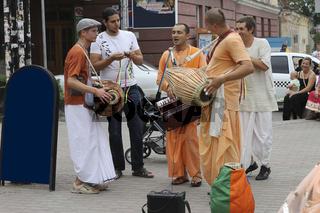 Hare Krishna Hare Rama on the streets