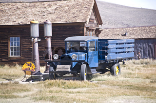 History in a gold rush ghost town