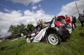 Felix Herbold bei der AvD Sachsen Rallye 2012