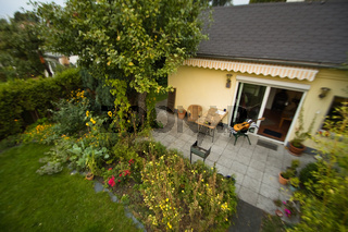 Garten, Laube,