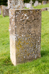 Gravestone for Nancy Mitford author