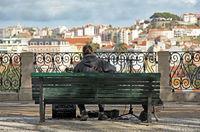 Musiker, Lissabon,Portugal,Sommer