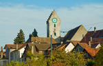 Ermatingen mit Kirche St. Albin