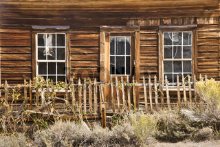 Rustic House in a Ghost Twon
