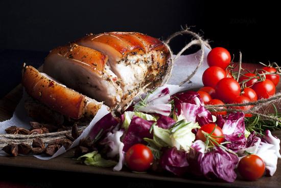 Pork and Vegetables