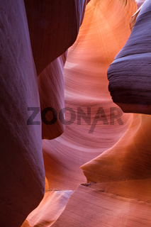 Red Orange sandstone waves