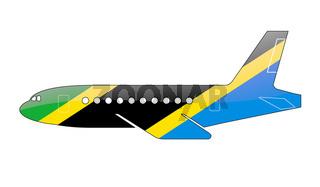 The Tanzania flag