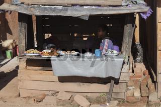 Strassenverkauf in Madagaskar, Afrika