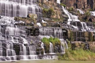 Pongour Wasserfall, zentrales Hochland Vietnam, Südostasien