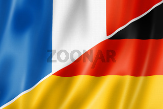 France and Germany flag