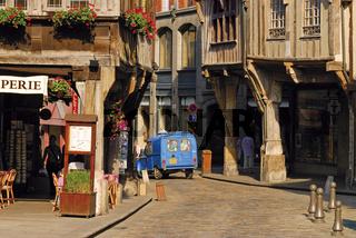 Bretagne: Historisches Zentrum von Dinan