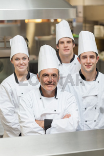 Happy team of Chef's