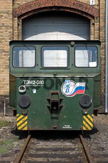 The battery railway truck 'LEW EL 16'