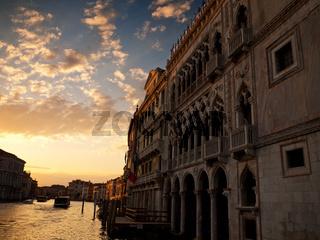Ca' d'Oro, Grand Canal, Venice, Italy