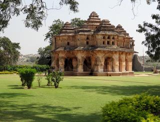 temple at the Cacred Center of Vijayanagara