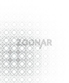 Modern abstract background. Illustration over white background.